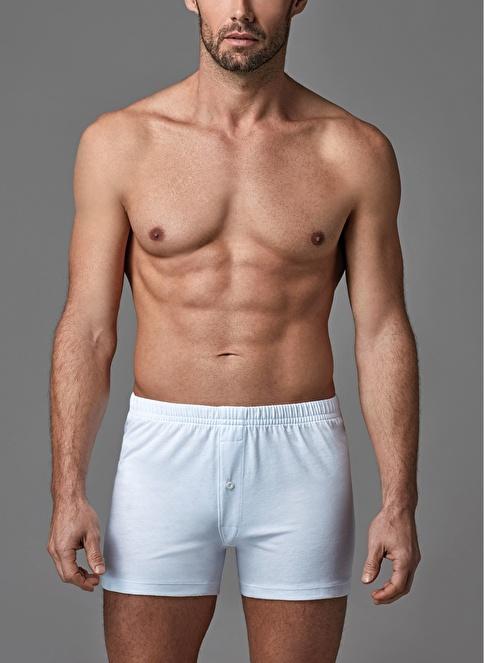 Dagi Penye Boxer 2'li Beyaz